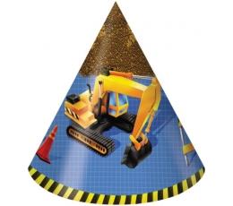 """Kepuraitės """"Mažasis statybininkas"""" (8 vnt.)"""