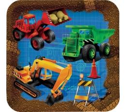 """Lėkštutės """"Mažasis statybininkas"""" (8 vnt./18 cm)"""