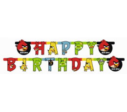 "Girlianda ""Angry Birds"" (180x15 cm)"