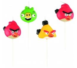 """Žvakutės """"Angry Birds"""" (4 vnt.)"""