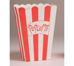 """Dėžutės užkandžiams """"Pop-corn"""" (8 vnt.), didelės"""