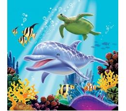 "Servetėlės ""Vandenyno paslaptys"" (16 vnt.)"
