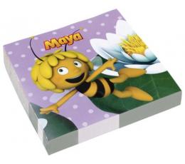 "Servetėlės ""Bitė Maja"" (20 vnt./33x33 cm)"