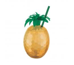 """Indas gėrimams su šiaudeliu """"Ananasas"""""""