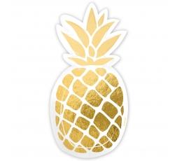 """Forminės lėkštutės """"Ananasai"""" (6 vnt.)"""