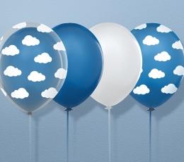 """Balionas """"Baltas debesėlis"""" (30 cm) 1"""