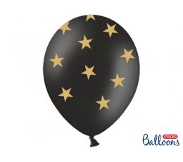 """Balionas """"Aukso žvaigždės"""" (30 cm)"""