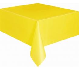 Staltiesė, ryškiai geltona (137x274 cm)