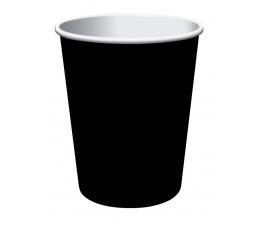 Puodeliai, juodi (8 vnt./266 ml)