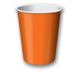 Puodeliai, oranžiniai (8 vnt./266 ml)