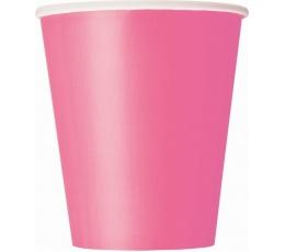 Puodeliai, rožiniai (8 vnt./266 ml)