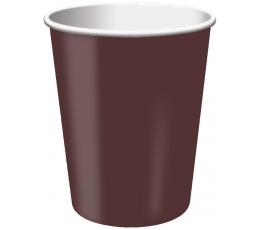 Puodeliai, rudi (24 vnt./266 ml)