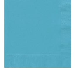 Servetėlės, turkio spalvos (20 vnt./33x33 cm)