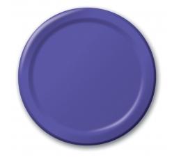 Lėkštutės, violetinės (8 vnt./22 cm)