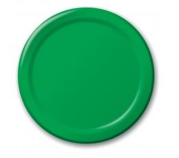 Lėkštutės, žalios (8 vnt./18 cm)