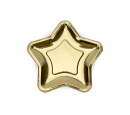 """Lėkštutės """"Aukso žvaigždė"""", forminės (6 vnt./18 cm)"""