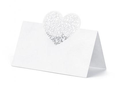 "Stalo kortelės ""Širdelės"" (10 vnt.)"