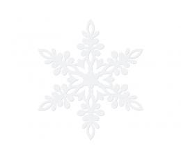 "Karpiniai-dekoracijos ""Baltos snaigės"" (10 vnt./13 cm)"