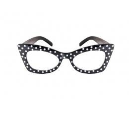Šventiniai akiniai, juodi