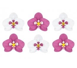 """Dekoracijų rinkinys """"Orchidėjos"""" (6 vnt.)"""