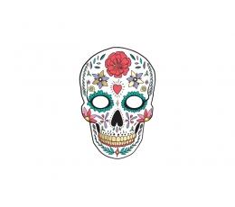 """Kaukė """"Dia de los Muertos"""", balta"""