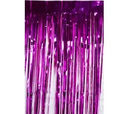 Folinė užuolaida-lietutis, ryškiai rožinė (250x100 cm)