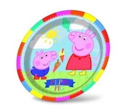 """Lėkštutės """"Peppa Pig"""" (8 vnt./23 cm)"""