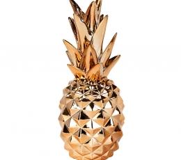 """Dekoracija """"Ananasas"""", rožinio aukso spalvos (24 cm) 2"""