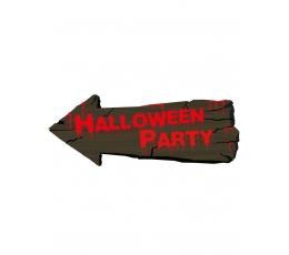 "Dekoracija-ženklas ""Halloween party"" (50 cm)"