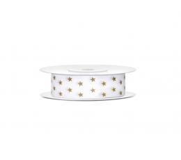 """Dekoratyvinė juostelė """"Aukso žvaigždės"""" (10 m)"""