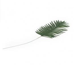 Dekoratyvinis palmės lapas su kotu (35x21 cm) 1