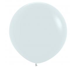 Didelis balionas, baltas (60 cm)
