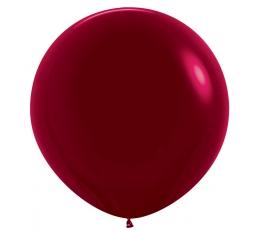 Didelis balionas,  burgundiškas perlamutrinis (90 cm)