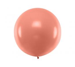 Didelis balionas, rožinio aukso spalvos (1 m)