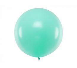 Didelis balionas, mėtinės spalvos (1 m)
