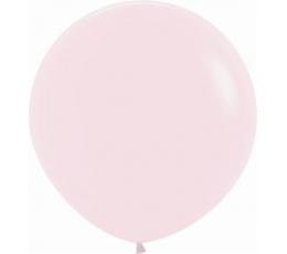 Didelis balionas, pastelinis rausvas (60 cm)