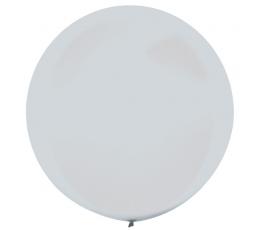 Didelis balionas, perlamutrinis sidabrinis (61 cm)
