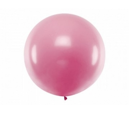 Didelis balionas, rožinis (1 m)