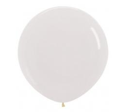 Didelis balionas, skaidrus (60 cm)