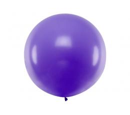 Didelis balionas, violetinės spalvos (1 m)