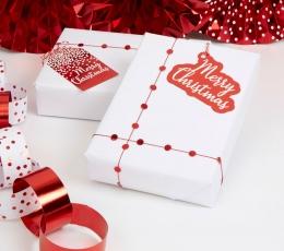 """Dovanėlių pakavimo rinkinys """"Merry Christmas"""" 1"""