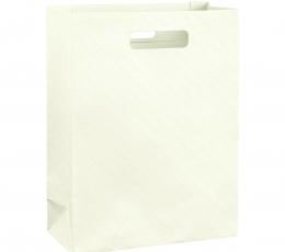 Dovanų krepšelis, kreminis (27x11x35 cm) 1