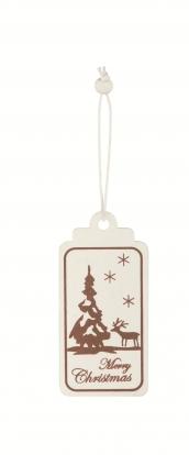 """Etiketės-dekoracijos """"Merry Christmas"""" (6 vnt.)"""