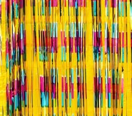 """Folinė užuolaida-lietutis """"Tropikai"""" (90x240 cm) 1"""