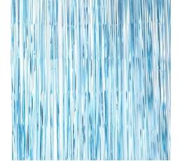Folinė užuolaida-lietutis, žydra (220x91 cm)