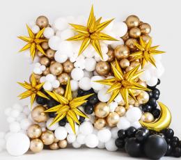 """Folinis 3D balionas """"Auksinė žvaigždė"""" (70 cm) 1"""
