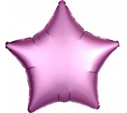 """Folinis balionas """"Alyvinė žvaigždė"""", matinis (43 cm)"""