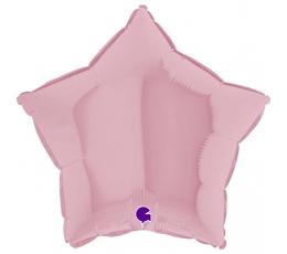 """Folinis balionas """"Alyvinė žvaigždė"""", matinis (46 cm)"""