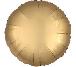 """Folinis balionas """"Auksinis apskritimas"""", matinis (43 cm)"""