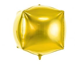 """Folinis balionas """"Auksinis kubas"""" (35cm)"""